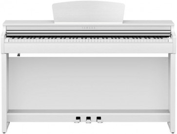 YAMAHA CLP725 WH BIANCO CLAVINOVA PIANO PIANOFORTE DIGITALE CON MOBILE 88 TASTI PESATI CLP-725WH