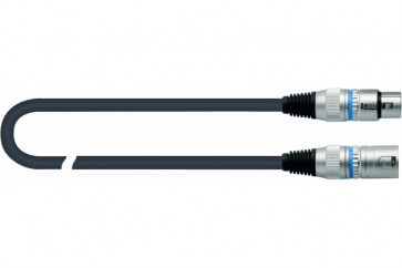 QUIKLOK CM/180- 15 BK CAVO PER MICROFONO XLR/XLR CANNON CANNON 15 MT (15MT) CM/180-15BK