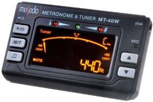 Musedo MT40W Accordatore Metronomo Digitale con Pick-up MT-40W