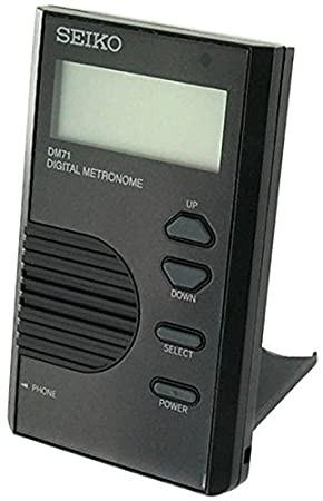 SEIKO DM71BE METRONOMO DIGITALE BLACK DM-71-BE