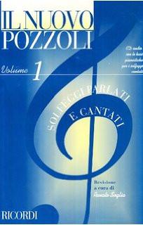 IL NUOVO POZZOLI VOLUME 1 CON CD E BASI PIANISTICHE METODO PER SOLFEGGIO