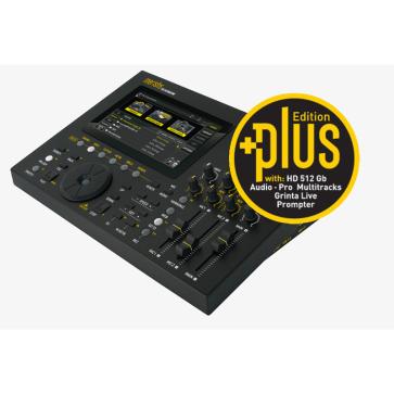 M-LIVE MERISH 5+ PLUS LETTORE TOUCH SCREEN DI BASI MUSICALI E FILE MIDI / MP3 / MP4 VIDEO CON TESTO MLIVE