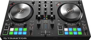 NATIVE INSTRUMENTS TRAKTOR KONTROL S2 MK3 CONTROLLER CONSOLLE USB PER DJ CON 2 DECK E INTERFACCIA AUDIO 4 CANALI