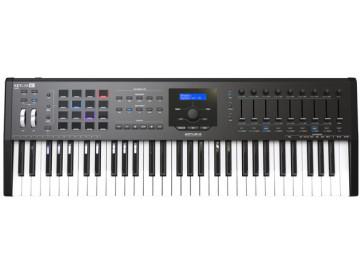 ARTURIA KEYLAB 61 MK2 BLACK TASTIERA CONTROLLER MIDI 61 TASTI NERO MKII