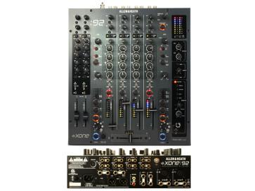 Allen & Heath XONE 92 mixer professionale da DJ  Xone92 nero black