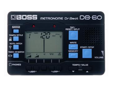 BOSS DB60 DR. BEAT METRONOMO DIGITALE DB-60