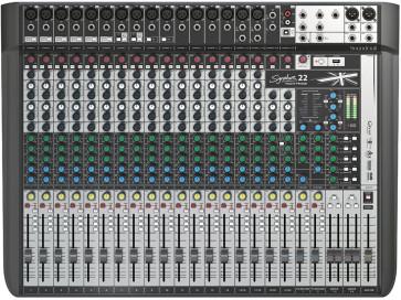 SOUNDCRAFT SIGNATURE 22 MTK MIXER USB MULTITRACCIA CON EFFETTI 22 CANALI SIGNATURE 22-MTK