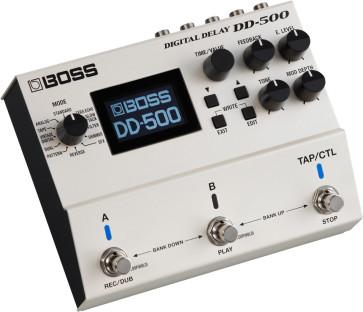 BOSS DD500 DIGITAL DELAY PEDALE EFFETTO DELAY 32BIT / 96KHZ DD-500