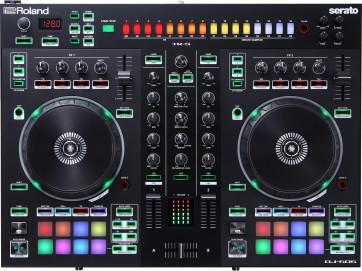 ROLAND DJ505 CONTROLLER CONSOLLE 2 CANALI E DECK SELECT PER SERATO DJ