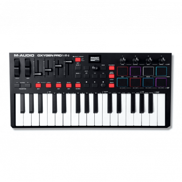 M-AUDIO OXYGENE PRO MINI CONTROLLER MIDI USB 32 TASTI MINI