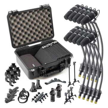 DPA d:vote CORE 4099 KIT-4099-DC-10R Rock Touring Kit, 10 Kit completo di 10 microfoni