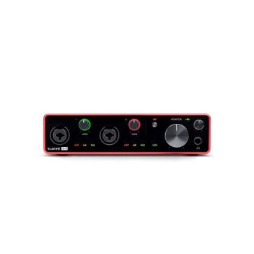 """FOCUSRITE SCARLETT 4I4 3"""" GENERAZIONE SCHEDA AUDIO INTERFACCIA USB 4 IN / 4 OUT"""