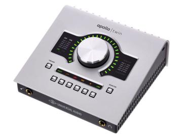 UNIVERSAL AUDIO APOLLO TWIN USB DUO HERITAGE EDITION INTERFACCIA AUDIO 2x6 USB CON DOPPIO PROCESSORE SHARC DSP