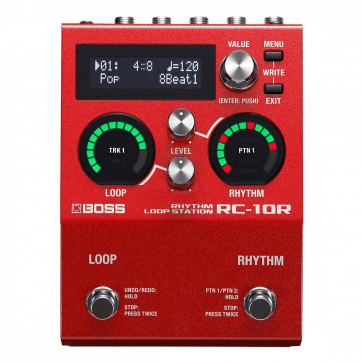 BOSS RC10R RHYTHM LOOP STATION  LOOP STATION STEREO CON DRUM MACHINE RC-10R