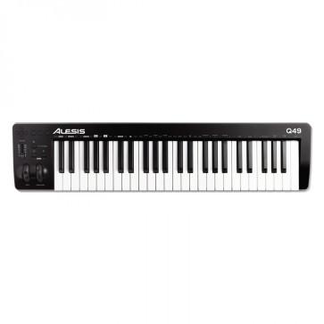 ALESIS Q49 MKII MASTER KEYBOARD TASTIERA E CONTROLLER MIDI USB 49 TASTI Q-49-MK2