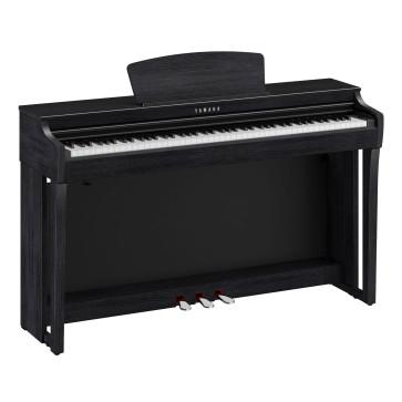 YAMAHA CLP725 B NERO CLAVINOVA PIANO PIANOFORTE DIGITALE CON MOBILE 88 TASTI PESATI CLP-725B