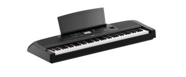 YAMAHA DGX670 B PIANO PIANOFORTE DIGITALE 88 TASTI PESATI CON ARRANGER DGX-670B NERO