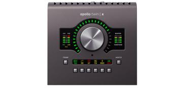 UNIVERSAL AUDIO APOLLO TWIN X DUO HERITAGE EDITION INTERFACCIA SCHEDA AUDIO THUNDERBOLT CON PROCESSORE DUO CORE