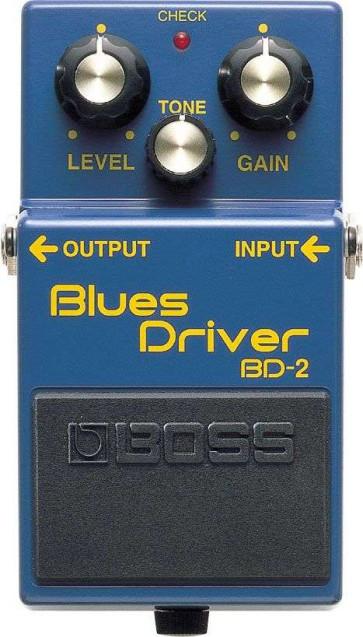 Boss BD2 Blues Driver Overdrive  EFFETTO A PEDALE PER CHITARRA
