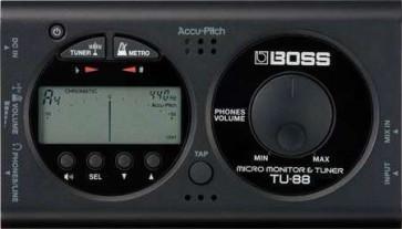 Boss TU88  Accordatore Cromatico e micro monitor TU-88