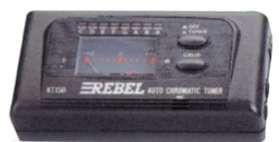 Rebel KT150 ACCORDATORE CROMATICO di precisione a lancetta KT-150