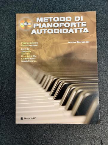 IVANO BORGAZZI METODO DI PIANOFORTE AUTODIDATTA LIBRO CON CD VOLONTE&CO