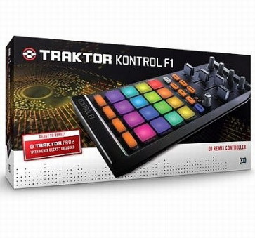 NATIVE INSTRUMENTS TRAKTOR KONTROL F1 CONTROLLER MIDI PER DJ