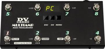DV MARK MULTIAMP MIDI PEDALBOARD PEDALIERA MULTIAMP MIDI