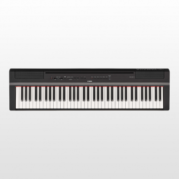 YAMAHA P121B PIANO PIANOFORTE DIGITALE DA PALCO 73 TASTI PESATI BLACK P-121-B