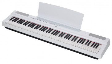 YAMAHA P125 WH BIANCO PIANO PIANOFORTE DIGITALE DA PALCO 88 TASTI PESATI P-125WH