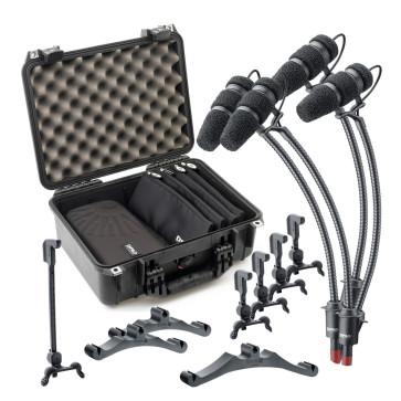 DPA D:VOTE CORE 4099 KIT-4099-DC-4C CLASSIC TOURING KIT Kit completo per 4 microfoni