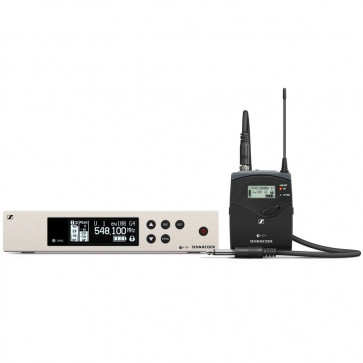 SENNHEISER EW100 G4 CI1 B-BAND SISTEMA RADIOMICROFONO UHF INSTRUMENT SET EW100G4CI1