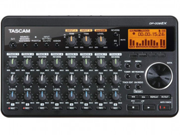 TASCAM DP008 EX REGISTRATORE DIGITALE 8 TRACCE CON MICROFONI INTEGRATI SU MEMORIA SD