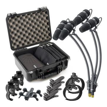 DPA d:vote CORE 4099 KIT-4099-DC-4R Rock TOURING KIT Kit completo per 4 microfoni