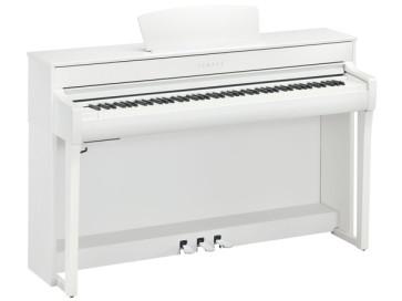YAMAHA CLP735WH WHITE BIANCO CLAVINOVA PIANO PIANOFORTE DIGITALE CON MOBILE 88 TASTI PESATI CLP-735-WH