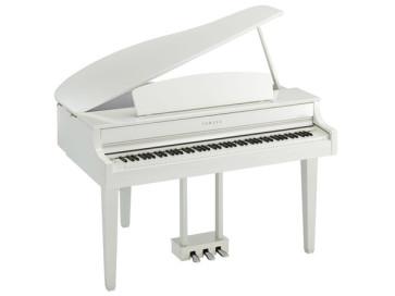 YAMAHA CLAVINOVA CLP765GPWH POLISHED WHITE PIANOFORTE DIGITALE A CODA BIANCO CLP-765GP-WH