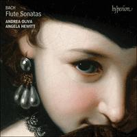 BACH FLUTE SONATAS - ANGELA HEWITT - ANDREA OLIVA CD IDEA REGALO