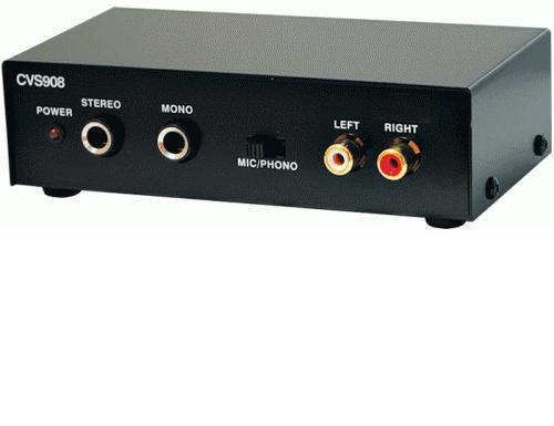 KARMA CVS908  PREAMPLIFICATORE CONVERTITORE DI SEGNALE PHONO-MIC  CVS-908