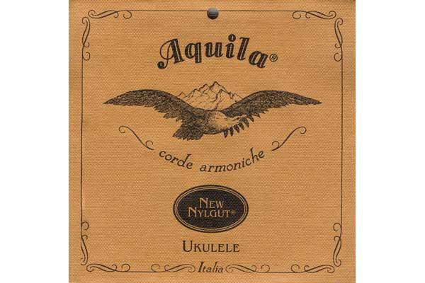 AQUILA 4U MUTA STRINGS CORDE UKULELE SOPRANO GCEA NYLGUT 4-U