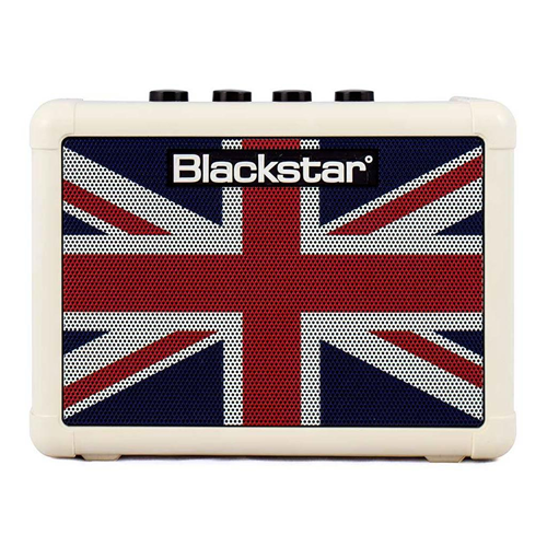 BLACKSTAR FLY3 UNION JACK MINI AMPLIFICATORE PER CHITARRA A BATTERIA 3W FLY-3