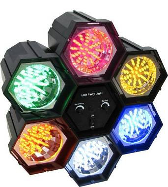 KARMA DJ 319LED EFFETTO LUCE CON 6 MODULI A LED DJ319 LED