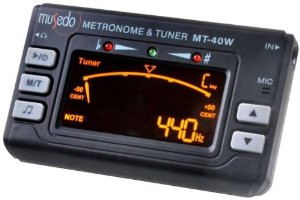 Musedo MT40W Accordatore Metronomo Digitale con Pick-up MT-40W