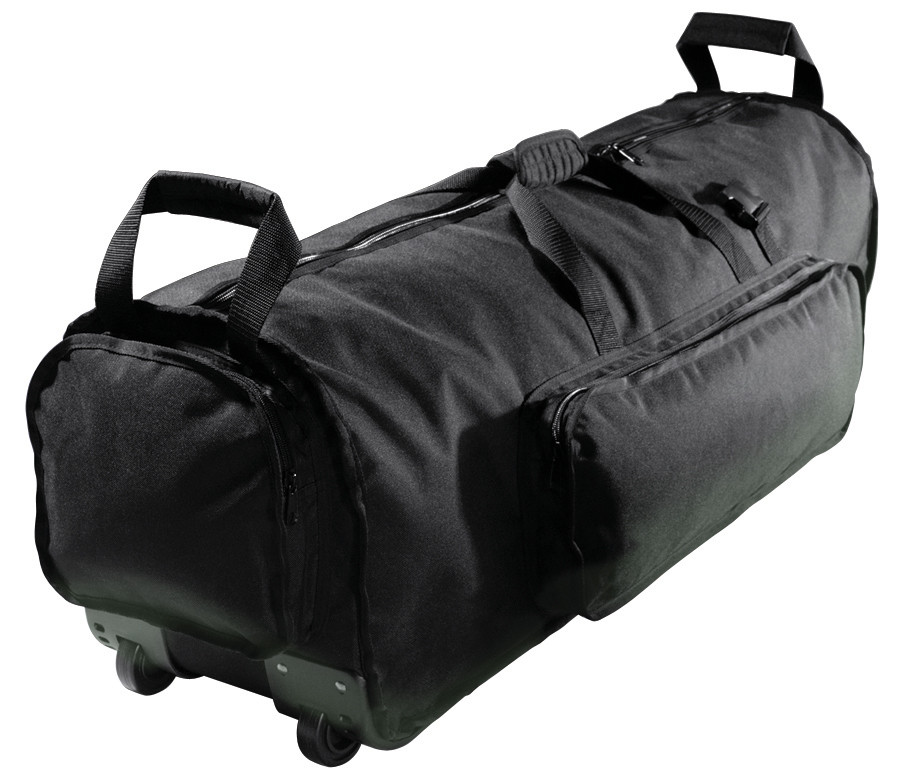 KACES PRO DRUM 940210 AKPHD-38W HARDWARE BAG 97CM CUSTODIA CON RUOTE TROLLEY PER ASTE DA BATTERIA
