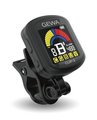 GEWA CLIP 3 ACCORDATORE A CLIP RICARICABILE VIA USB