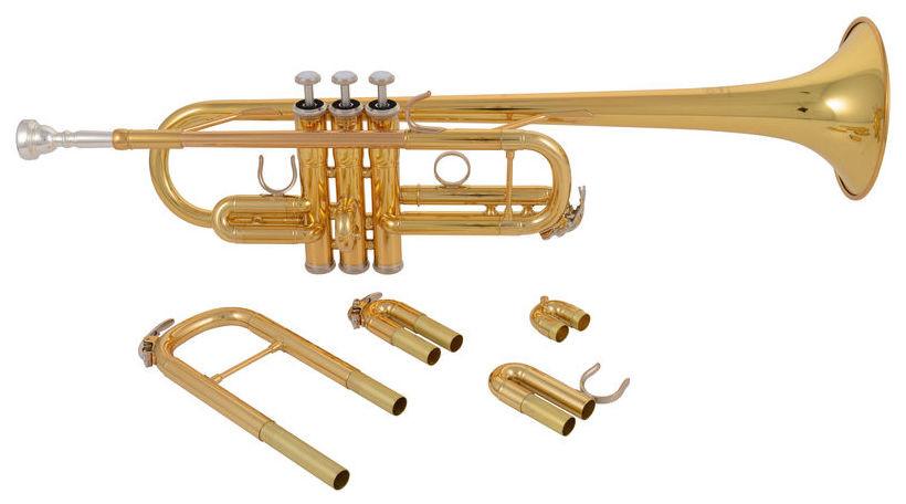 Yamaha YTR4435 II Tromba doppia Do e SIB laccata YTR4435II