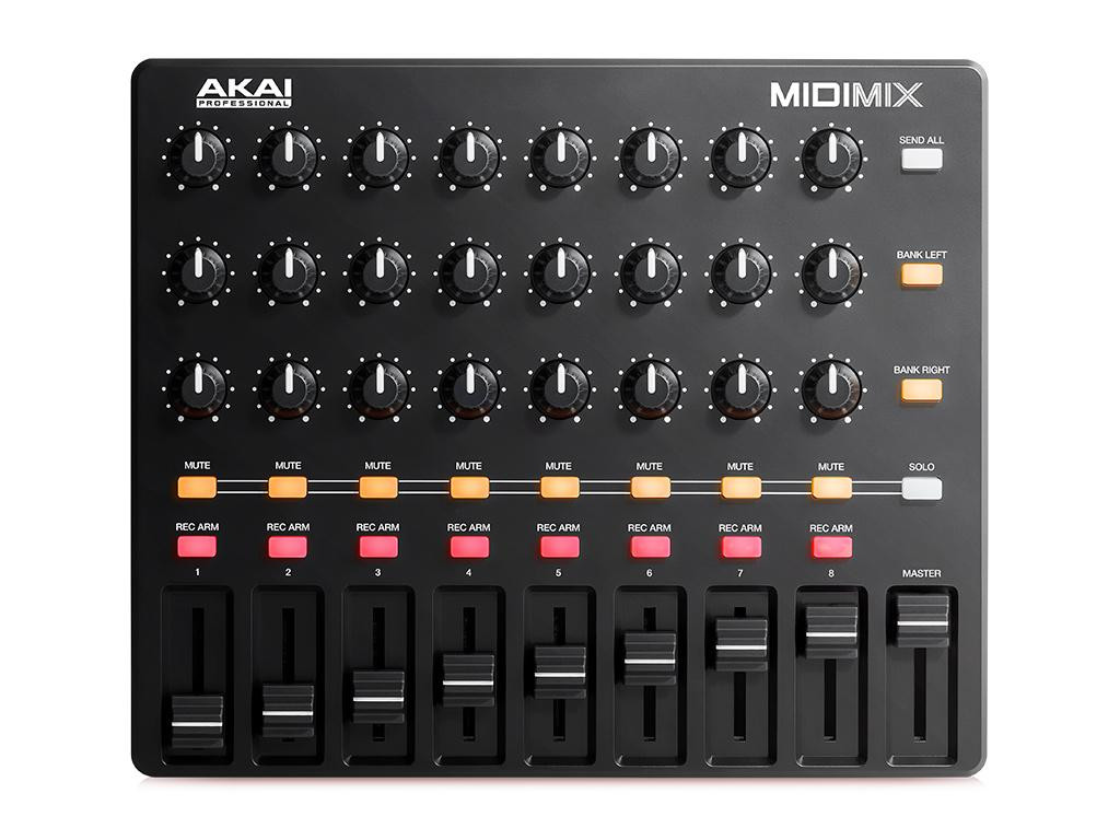 AKAI MIDIMIX CONTROLLER MIDI PER WORKSTATION AUDIO DIGITALI