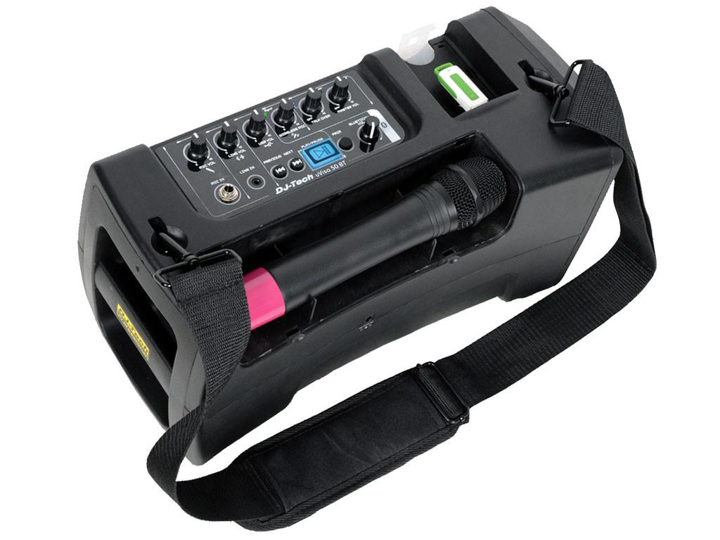 Dj tech uvisa 50bt sistema di amplificazione portatile - Stereo casse wireless ...