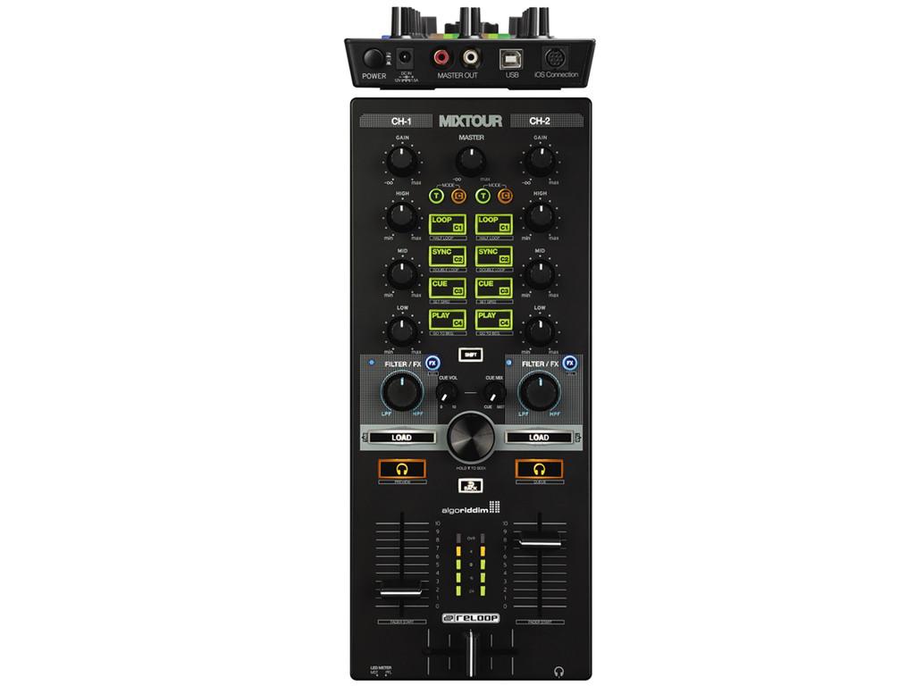 RELOOP MIXTOUR CONTROLLER SCHEDA AUDIO PER PC MAC IOS ANDROID IPAD DJ