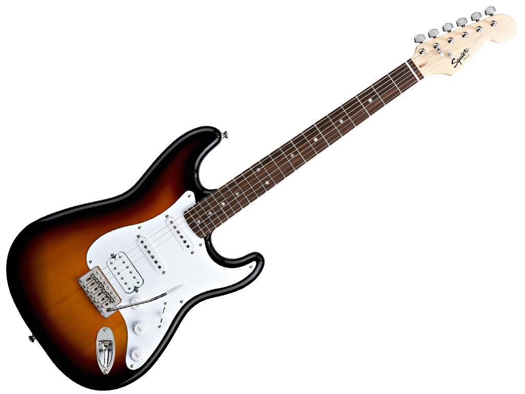 FENDER 0310700964 Squier Stratocaster Bullet HSS RW Sunburst