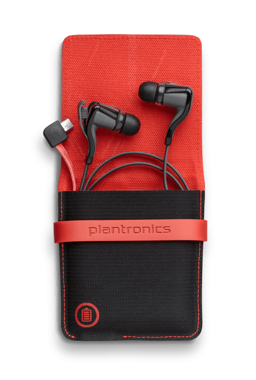 PLANTRONICS BACKBEAT GO 2 CUFFIA, CUFFIE AURICOLARI SENZA FILI WIRELESS CON CHARGING CASE